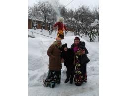 Масленица Кирово-Чепецкий дом-интернат для престарелых и инвалидов ,